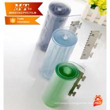 Прозрачный занавес прокладки PVC крена красочные занавес