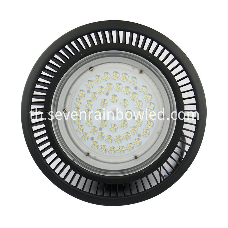 Black Aluminum High Bay Led Lighting