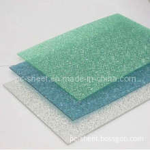 Fireproof Embossed Solid Polycarbonate Sheet for Home Decoration