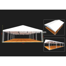 shanghai customize reusable outdoor event tents display with wood stage or floor