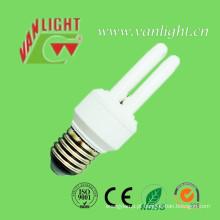 Forma mini 2u, luz de poupança de energia