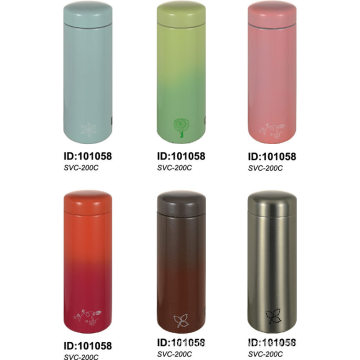 Double Wall Stainless Steel Vacuum Mug Travel Water Bottle SVC-200c