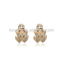 Hottest 925 sterling silver jewelry plated rose gold earrings