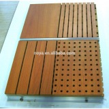 Perforated MDF Soundproof Wooden Acoustic Panels