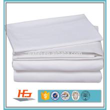 atacado simples branco 50% poli 50% algodão tecido À Venda