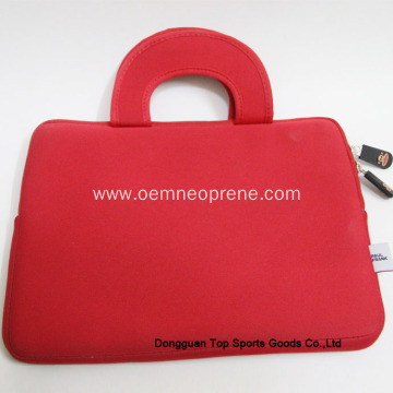 High Quality Red Durable Neoprene Laptop Sleeves