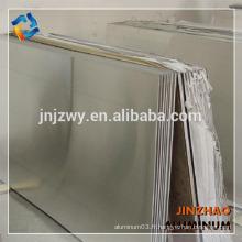 Feuille d'aluminium 5754 5052 utilisée dans l'avion