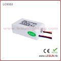 Утверждение CE 1-3*3 Вт постоянный ток светодиодный драйвер/питания LC9703