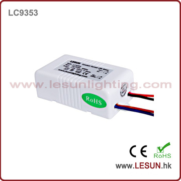 Aprovação CE 1-3 * 3W Corrente constante LED Driver / Fonte de Alimentação LC9703