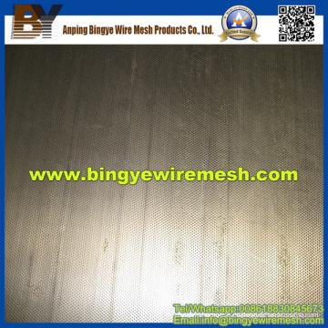 Metal perforado de acero con poco carbono