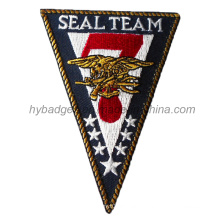 Army Embroidery Badge, Triangle Shape Patch (GZHY-PATCH-009)