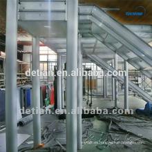 Stand de dos niveles, alquiler y construcción de cabinas de dos pisos en Shanghai, China