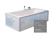 Acrylic Solid Surface Bath Tub