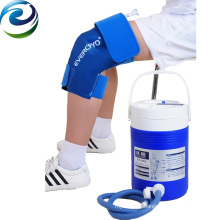 Paquet froid de gel de compression de genou de thérapie de réadaptation d'utilisation professionnelle d'hôpital