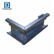 Fangda haute qualité knock-down KD cadre de porte en métal galvanisé