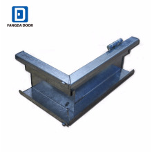 Fangda high quality knock down KD galvanized metal door frame