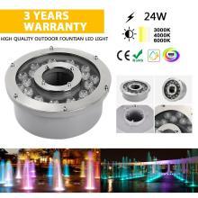 Fonte de iluminação IP65 24V 24W iluminação externa