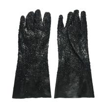 Luvas pretas todas as partículas de 40cm
