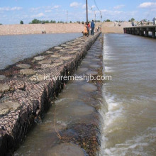 3.0 mm Galvanized Gabion Box untuk River Bank Project