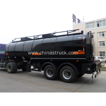 2 axle 30CBM heating insulation bitumen tank semi-trailer