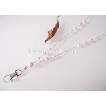 cordão de cordão de pérola de cristal pérola bonito
