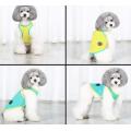 2 Pcs Cães de estimação Camisola de alças respirável