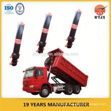 Cilindro hidráulico telescópico para camión volquete / basculante hidráulica