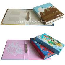 Custom Design Impression Paper Paper Binder PVC Card Holder Inside