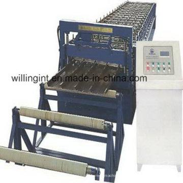 Unterschiedliche Typen Dachstahl-Plattenformmaschinen-Walzenformer