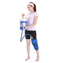 excellent quality knee brace with ice gel or heating with TPU material