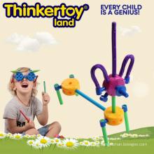 Dog Themed Bulding Spielzeug für Kindertagesstätten Curriculum Spiele