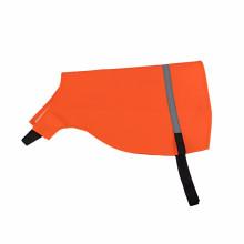 Gilet de protection réfléchissant de sécurité orange PVC