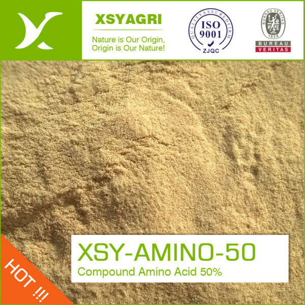 100 % Water solubility Amino acid powder