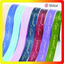 Polyestertryck Satin Ribbon