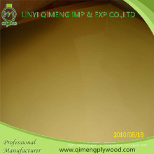 1220x2440 мм 1,6 мм 2,2 мм 2,6 мм желтый полиэстер фанеры для рынка Индонезии