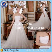Veils grátis preço barato trajes de vestido de noiva de renda longa