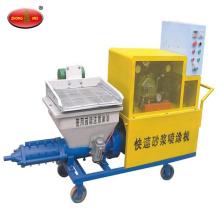 Máquina de pulverização de cimento para pintura Máquina de pulverização de concreto para parede