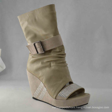 New Style Fashion High Heel Dress Boots (HCY03-048)