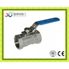 1PC CF8 Ball Valve Dn25 with Thread Ends
