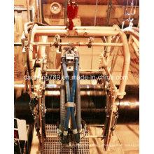 Machine de sablage et de dérobage de sable utilisée pour le travail des tuyaux d'huile