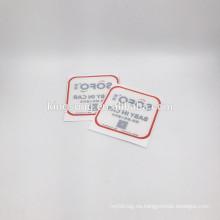 Etiqueta engomada del vinilo / etiqueta engomada clara del PVC / etiqueta engomada de la ventana Aduana por completo impresa cualquier tamaño, color y diseño