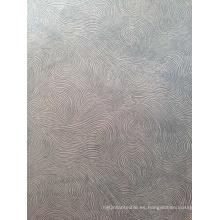 Tejido de tapicería de terciopelo de Burnout para Funriture Funda de sofá