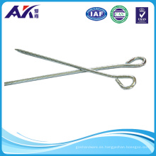 Heavy Duty Rusty Resitant Twisted Tent Hooks