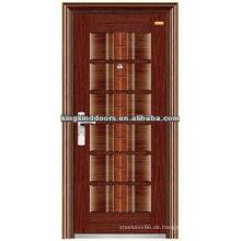 Langlebige Stahl Haustür Design KKD-203 mit hoher Qualität Made In China