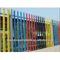 ISO9001 Clôture PVC Palisade Revêtue