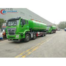 Nouveau camion-citerne à eau en acier inoxydable Sinotruck 2019