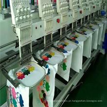 8 cabeças 9/12/15 agulhas Cap máquina de bordar nova condição e operação do computador da máquina do bordado preços