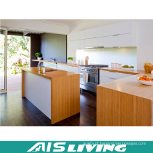 Mobília de cozinha de folheado Armário de cozinha em PVC Armário de cozinha de melamina AIS-K057