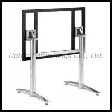Rectángulo de acero inoxidable plegable mesa de la pierna (SP-STL032)