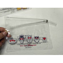 Clear Plastic PVC Bag With Ziper
